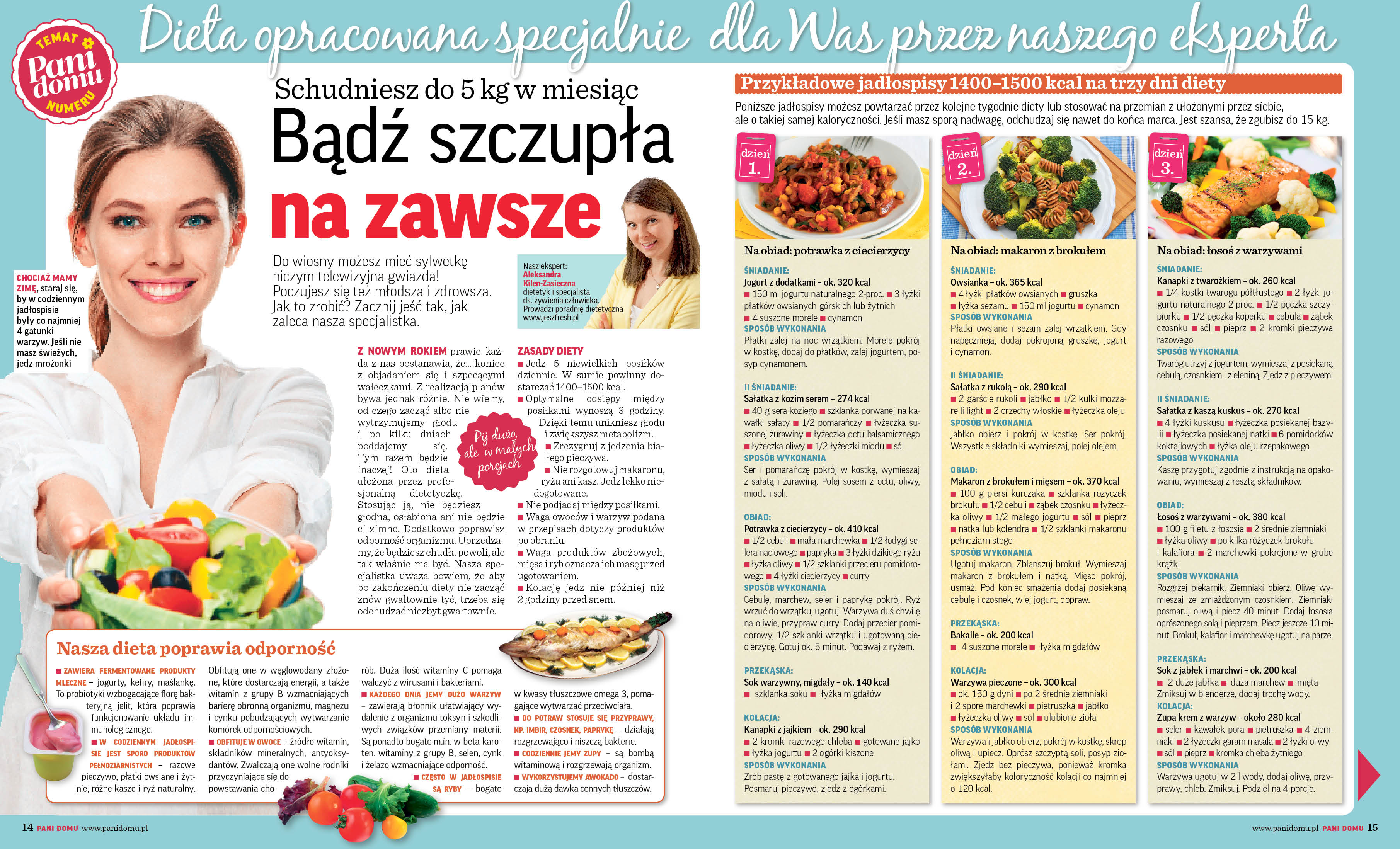 dieta odchudzająca w gazecie 1